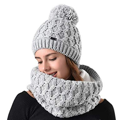 Knitted beanies are an integral part of a   trendy wardrobe