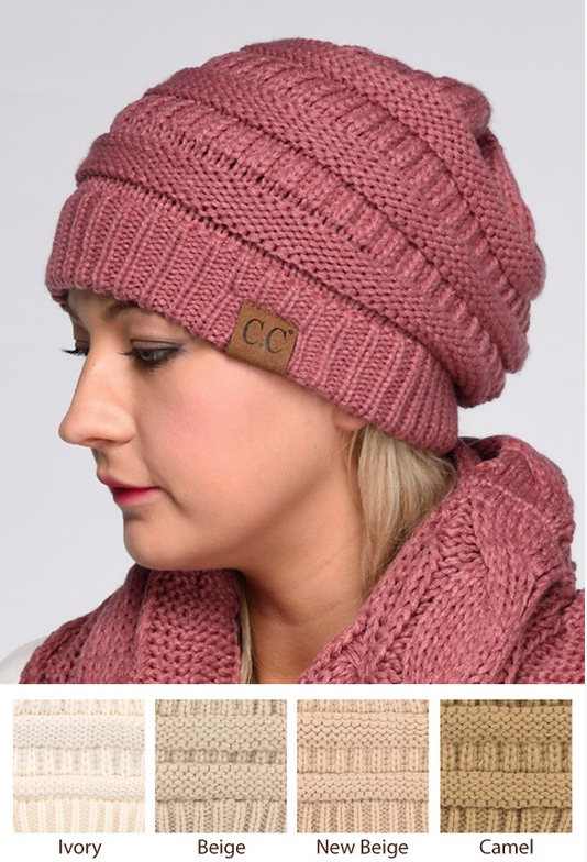 Knitted Beanie - For Every 5 Beanies Sold We Will Donate a Hat to A
