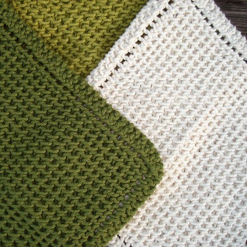 Chinese Waves Dishcloths - Free Pattern | Knitting | Pinterest