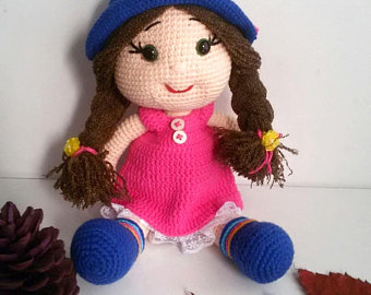 Knitted dolls | Etsy