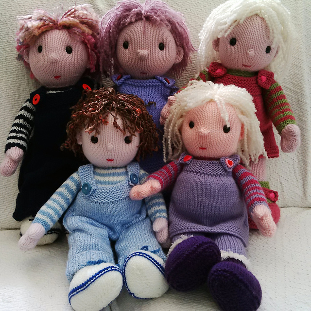 Ravelry: The Poppet Dolls pattern by Pat Alinejad