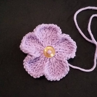 Ravelry: Basic 5 Petal Knitted Flowers pattern by Adeline Too