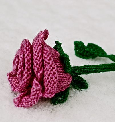 Flower Knitting Patterns - In the Loop Knitting