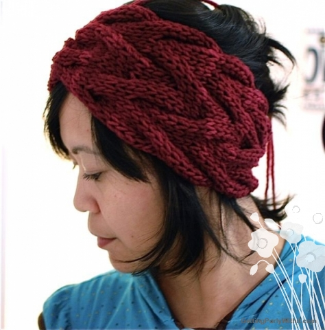 Free pattern: Vanessa Headband | Getting Purly With It