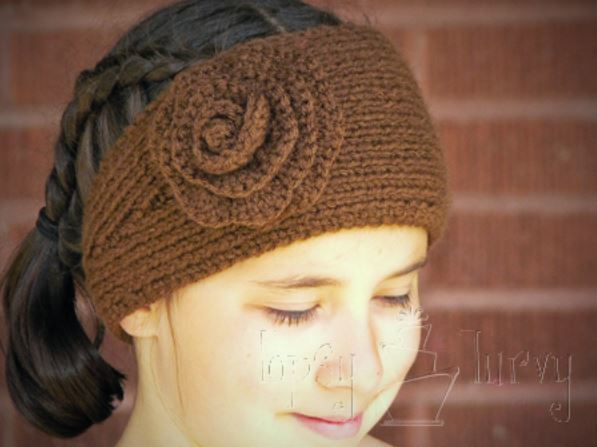 Ridiculously Simple Knit and Crochet Headband | AllFreeKnitting.com