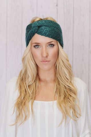 Top 10 Knitted Headband Designs | Needlework-Hats | Pinterest