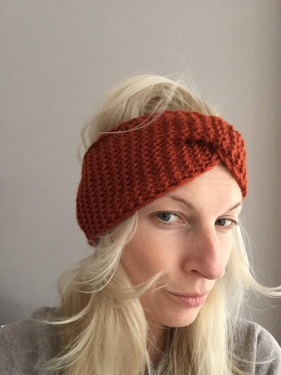 Knitted Headband knit hair band Headbands Winter Ear Warmer | Etsy