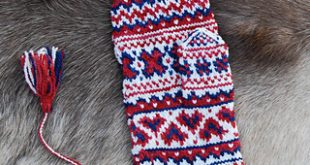 Ravelry: Mittens from Enontekiö: Sámi Knitted Mittens pattern by Laura