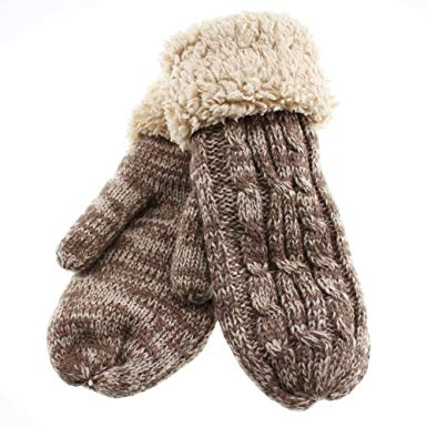 Warmest Gloves Of Double Structure covering 5 Finger Women's Winter