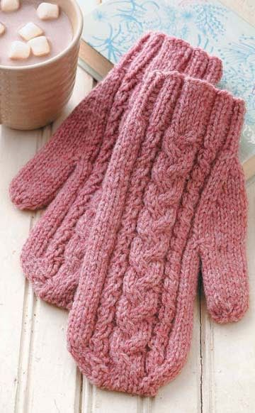 I Can't Believe I'm Knitting Mittens | Knitting | Pinterest