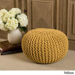 Give Your Home Décor a Trendy Look with   the Knitted Pouf