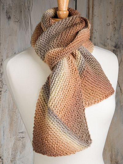 Colorful Scarf Knitting Patterns - In the Loop Knitting