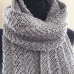 Knitted scarf patterns ideas