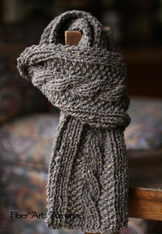 15 Stunning Knitted Scarf Patterns