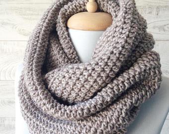 Knit scarf | Etsy