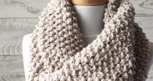 Chunky knit scarf | Etsy