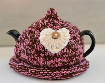 Knitted tea cosy | Etsy