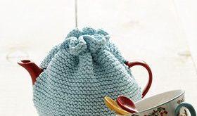 Beginner Tea Cozy Knitting Pattern   AllFreeKnitting.com