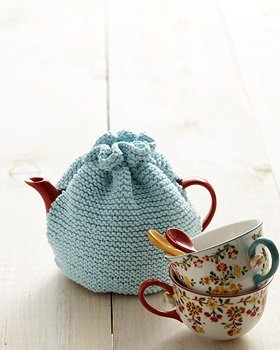 Info on Knitted tea cosy