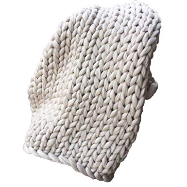 Amazon.com: Amiley Knitted Blanket, 40 X 48 inches Knitted Throw