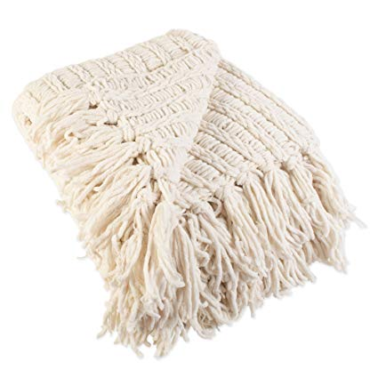 Amazon.com: J&M Home Fashions Luxury Chenille Woven Knitted Throw