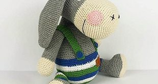 Amazon.com: Handmade toy, Knitted toy donkey, Knitted toys, Knit