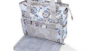 Amazon.com: Teamoy Knitting Bag, Travel Yarn Storage Tote Organizer
