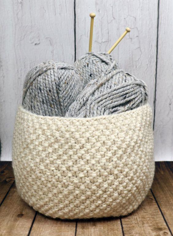 Basket Knitting Patterns- In the Loop Knitting