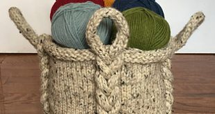 Ravelry: Entangle Basket pattern by Deja Joy