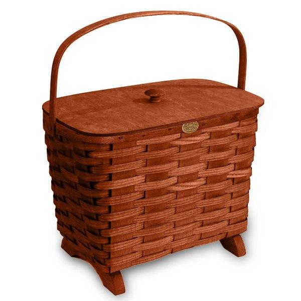 Peterboro Traditional Knitting Basket