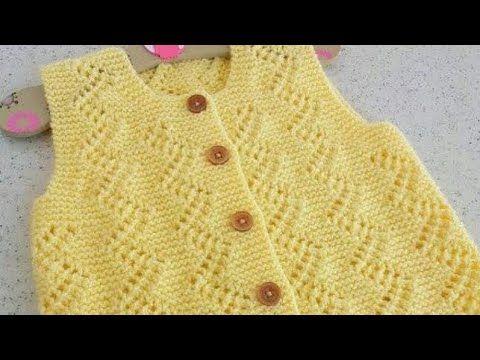 Jali Design for Kids in Hindi/Easy Cardigan Designs/Knitting Designs