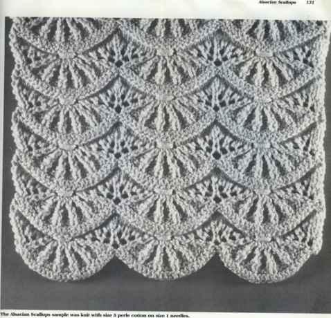 Alsacian Scallops - Knitting Designs - Jo Ann's Knitting Blog