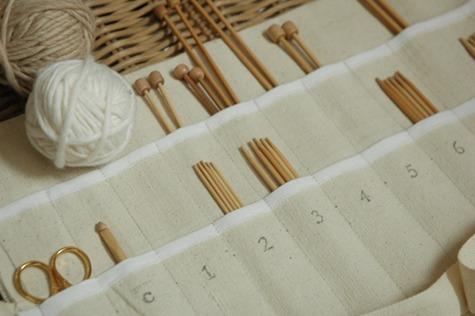 diy project: knitting needle case u2013 Design*Sponge