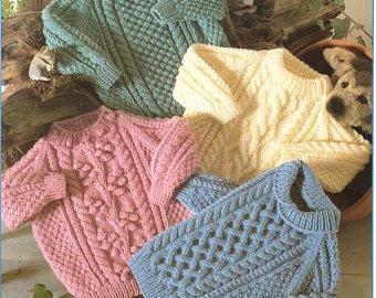 Knitting patterns children | Etsy