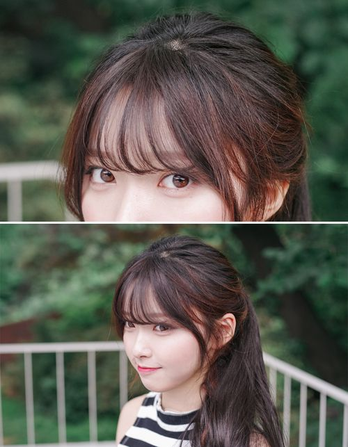 Image result for bangs korean | Hairstyle Inspiration | Pinterest