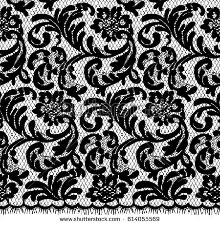 Floral Lace Pattern - Download Free Vector Art, Stock Graphics & Images
