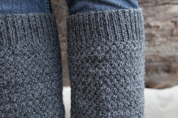 Defroster Leg Warmers - Knitting Patterns and Crochet Patterns from