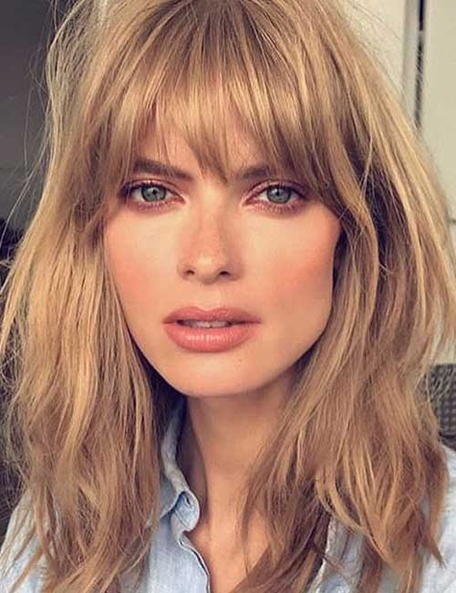 50 Best Long Hair With Bangs Looks For Women u2013 2019