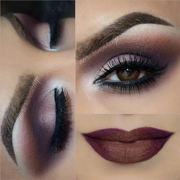 40 Eye Makeup Looks for Brown Eyes | StayGlam