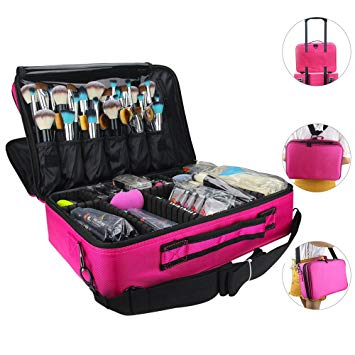 Amazon.com : Makeup Bags Travel Large Makeup Case 16.5