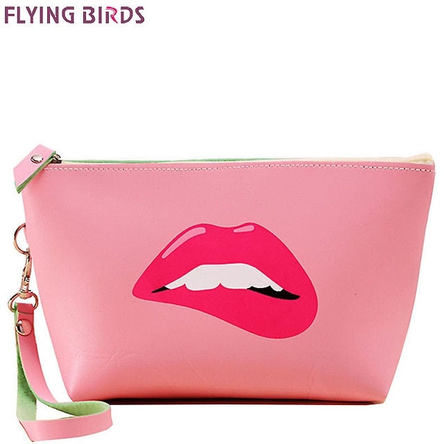 FLYING BIRDS women Cosmetic Bags Makeup Bag Cosmetic case summer