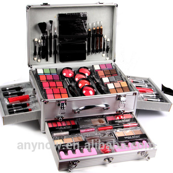 Promotional Fresh Color Cosmetic Makeup Box Set Miss Rose - Buy
