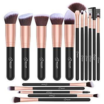 Amazon.com: BESTOPE Makeup Brushes 16 PCs Makeup Brush Set Premium