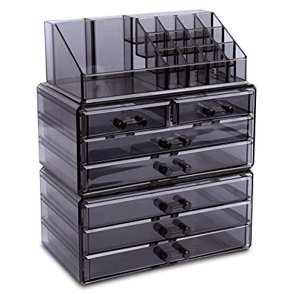 Amazon.com: Ikee Design Makeup Organizer Jewelry Storage Case 3