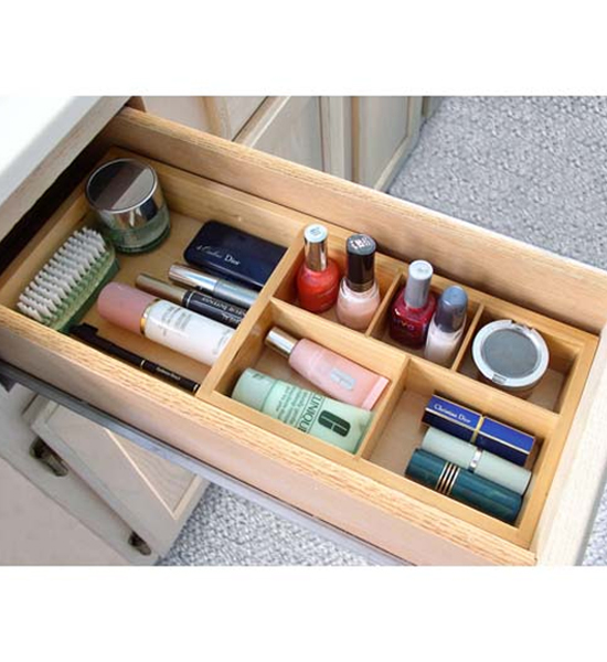 Expandable Cosmetic Drawer Organizer in Cosmetic Drawer Organizers