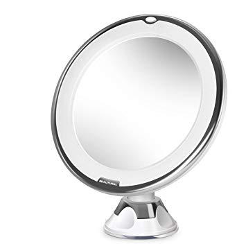 Amazon.com : Beautural 10X Magnifying Lighted Vanity Makeup Mirror