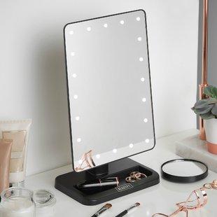 Led Lighted Makeup Mirror | Wayfair