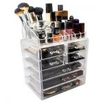 How can you successfully manage your   makeup storage area?