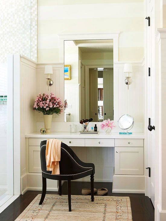 Bathroom Makeup Vanity Ideas | {Bathrooms} | Pinterest | Bathroom