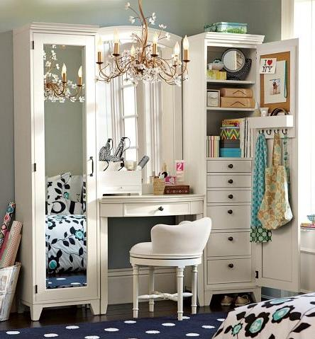 17 Beautiful Makeup Vanity Ideas